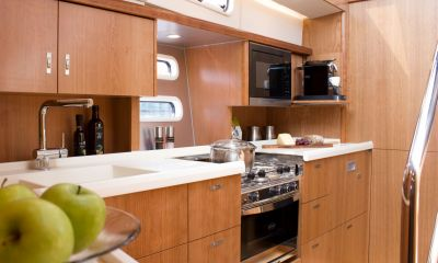 "Moody DS 54 - Neues Interieur: ""Galley down""-Version"