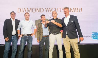 DIAMOND Yachts ist Moody Dealer of the Year 2018